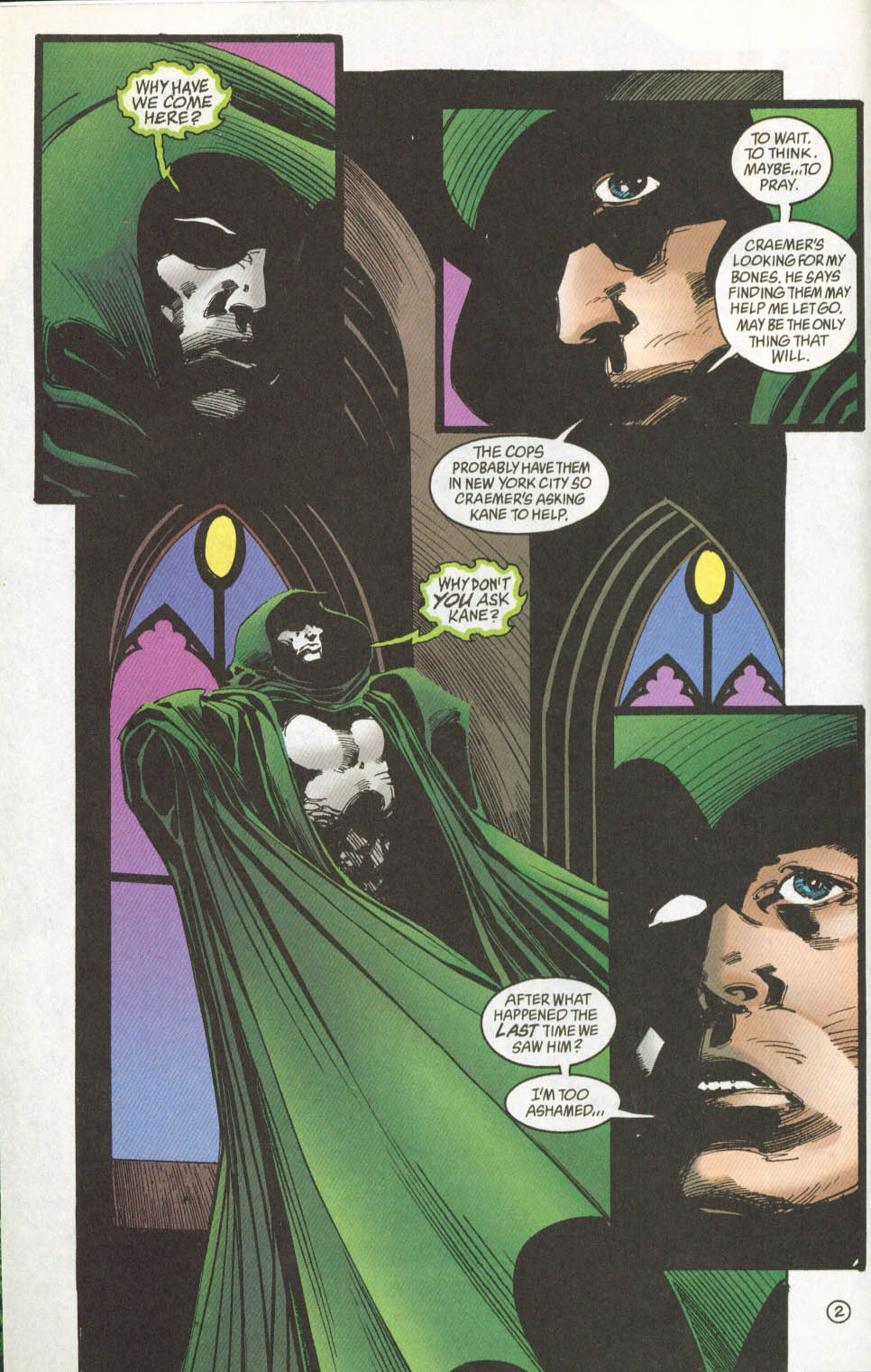 The Spectre (1992) #62 #64 - English 3