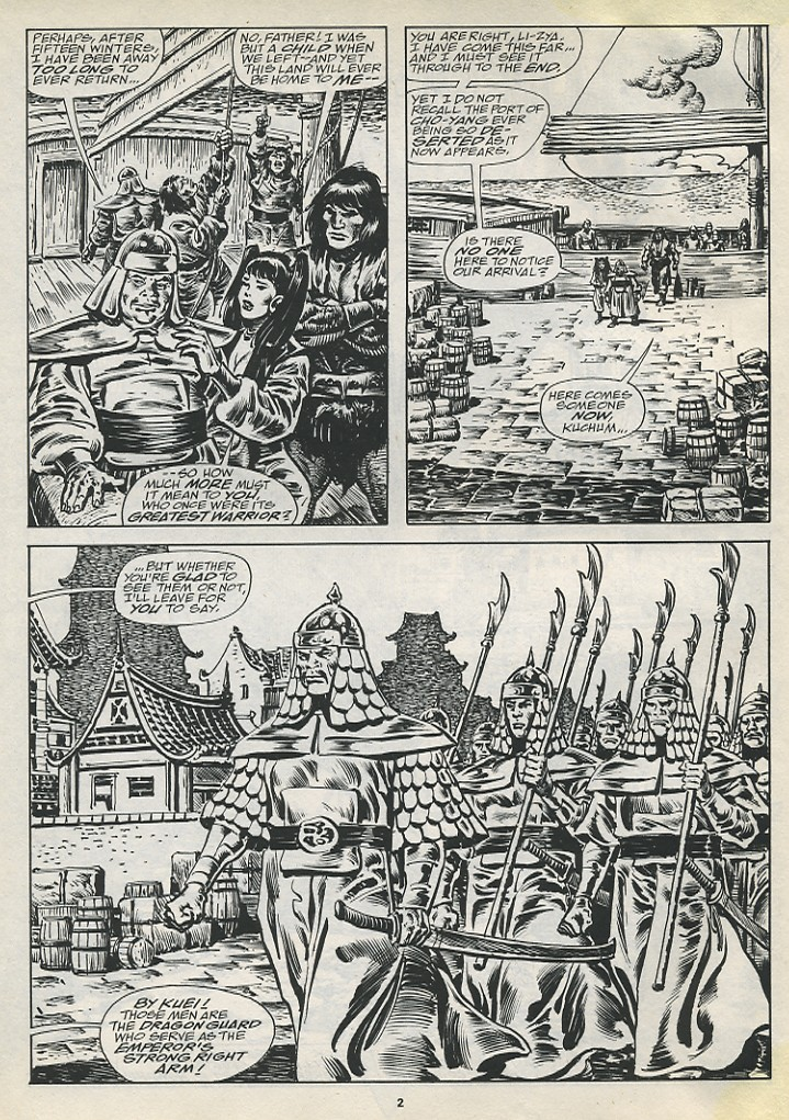 The Savage Sword Of Conan Issue #194 #195 - English 4