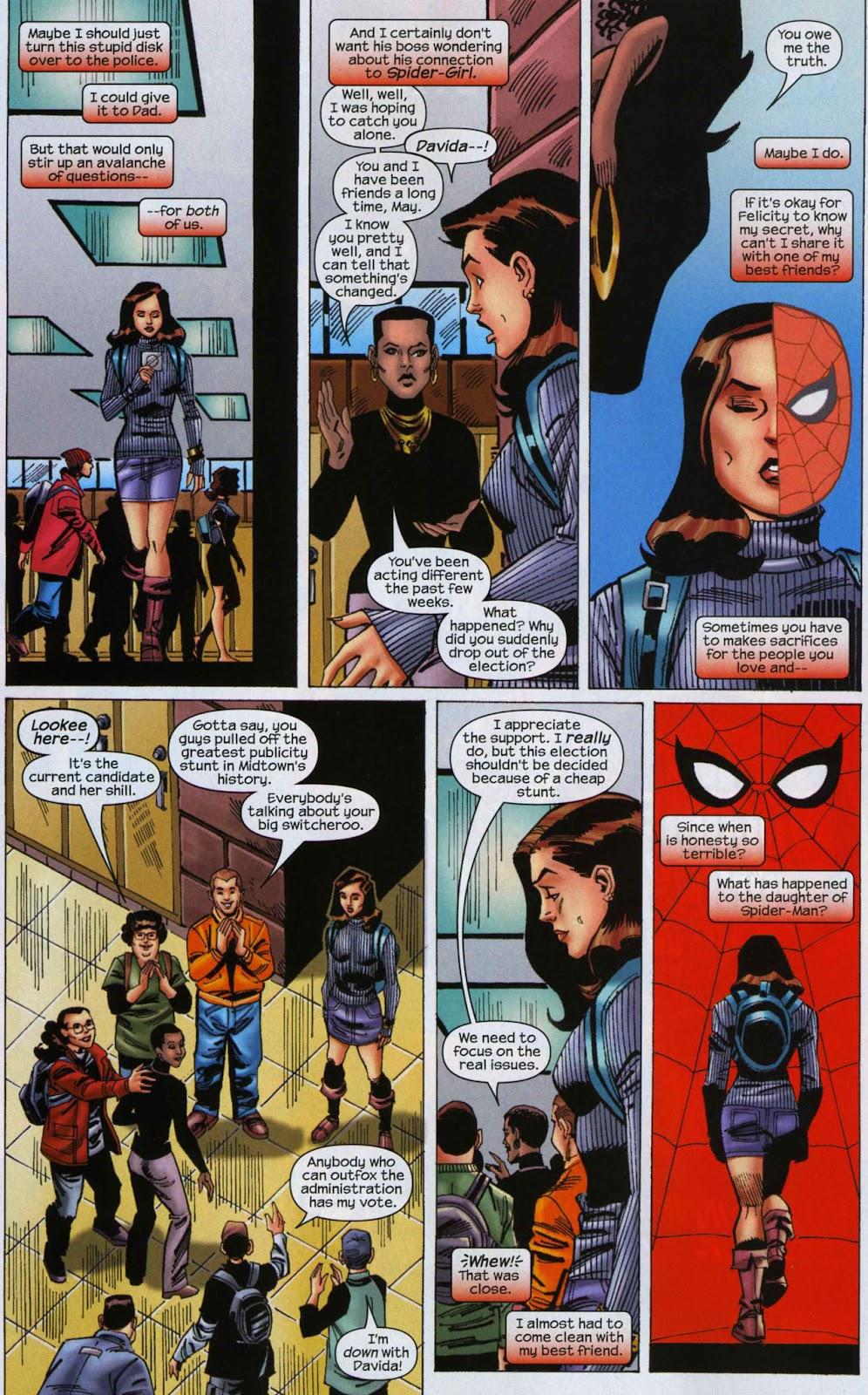 Amazing Spider-Girl Issue #6 #7 - English 10