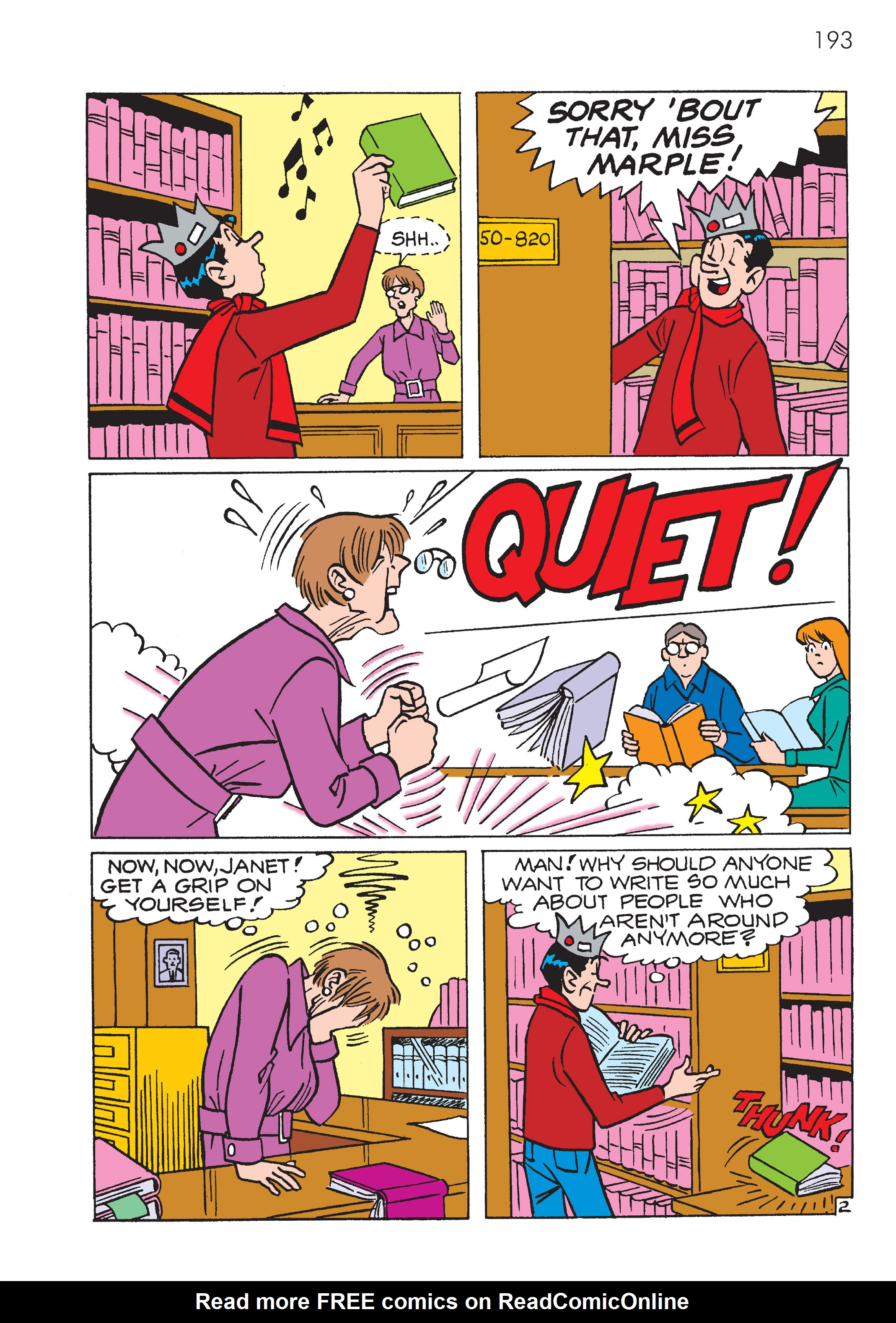 Read online The Best of Archie Comics comic -  Issue # TPB 4 (Part 1) - 194
