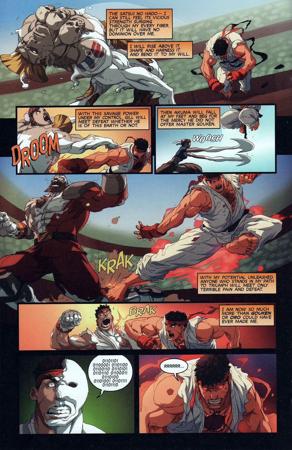 Street Fighter Unlimited Issue #9 #11 - English 20