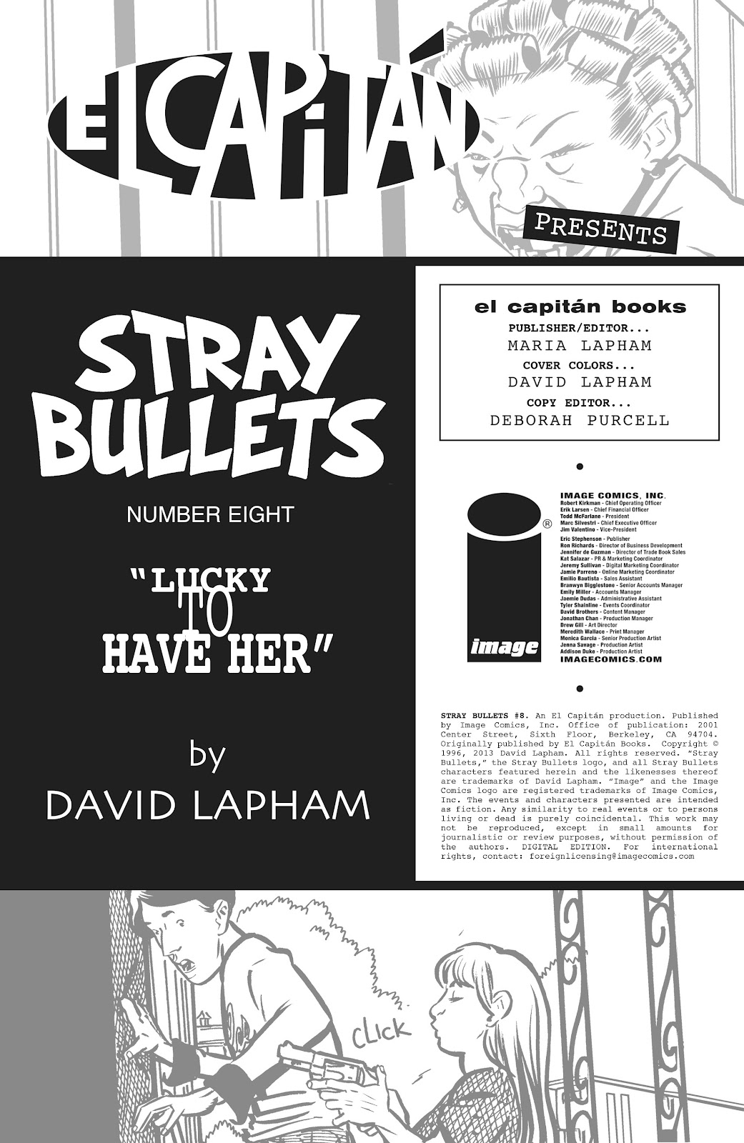 Stray Bullets Issue #8 #8 - English 2