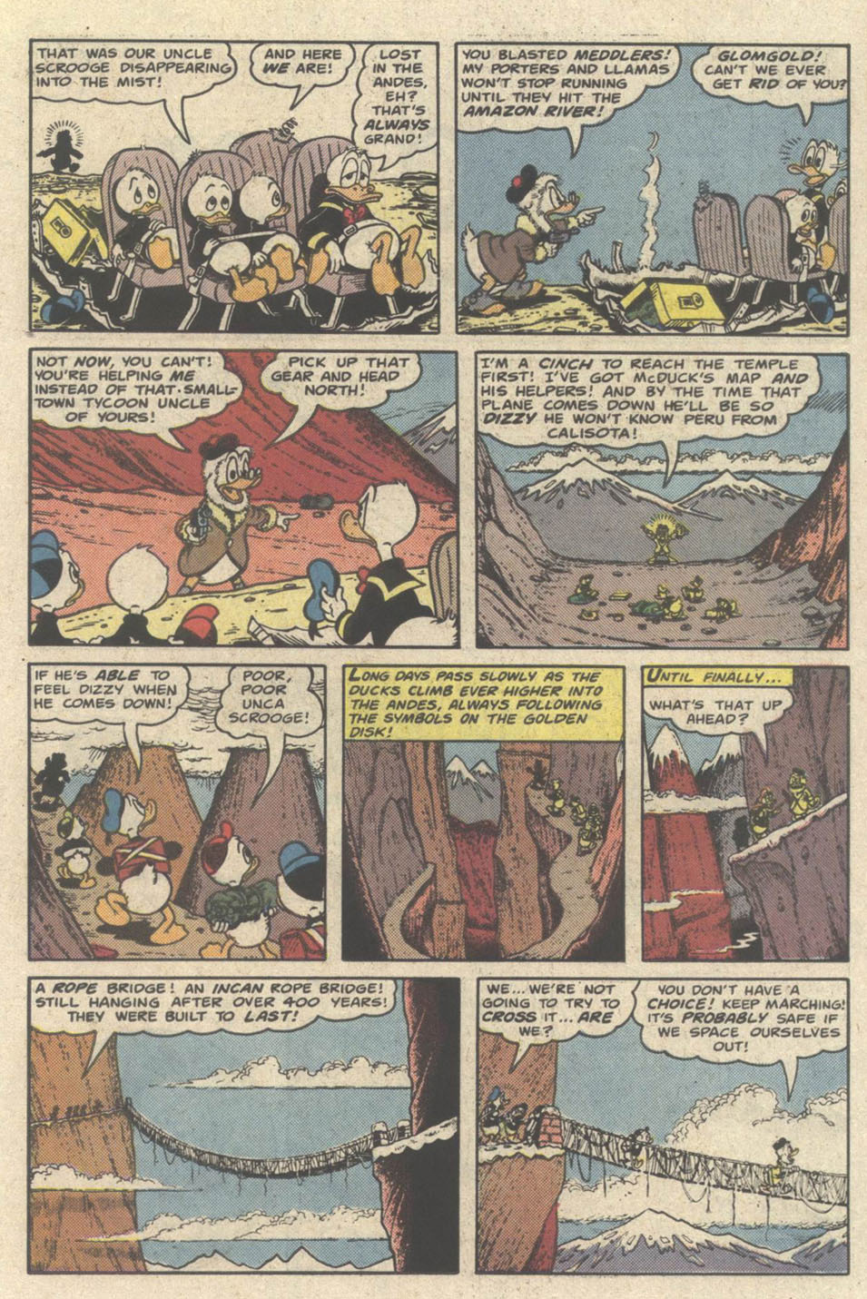 Uncle Scrooge (1953) Issue #219 #219 - English 15