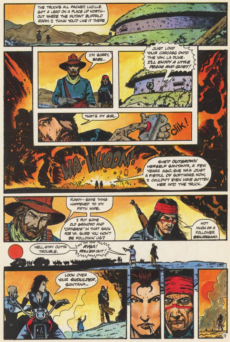 Read online Scout comic -  Issue #10 - 20
