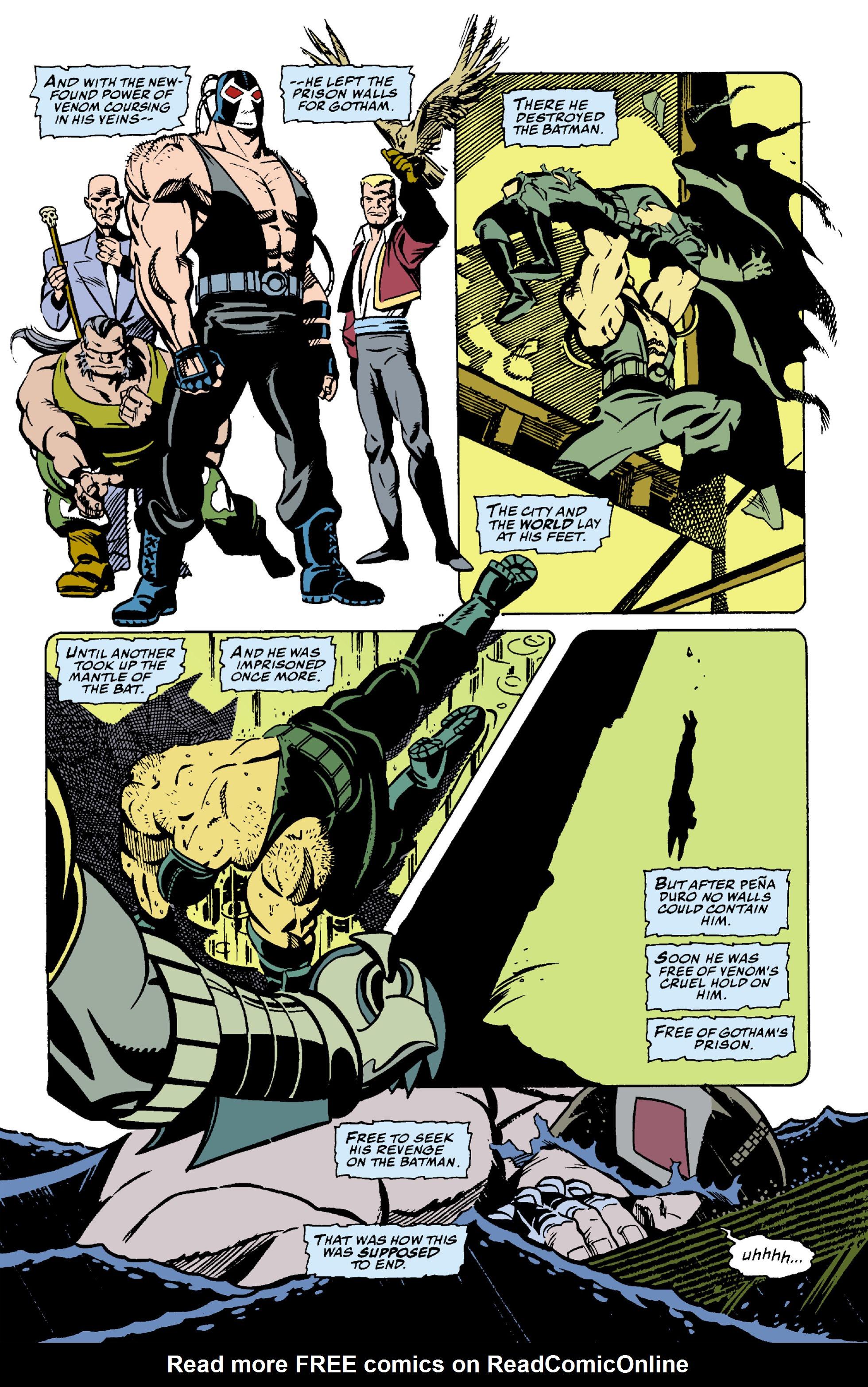 Read online Batman: Bane comic -  Issue # Full - 6