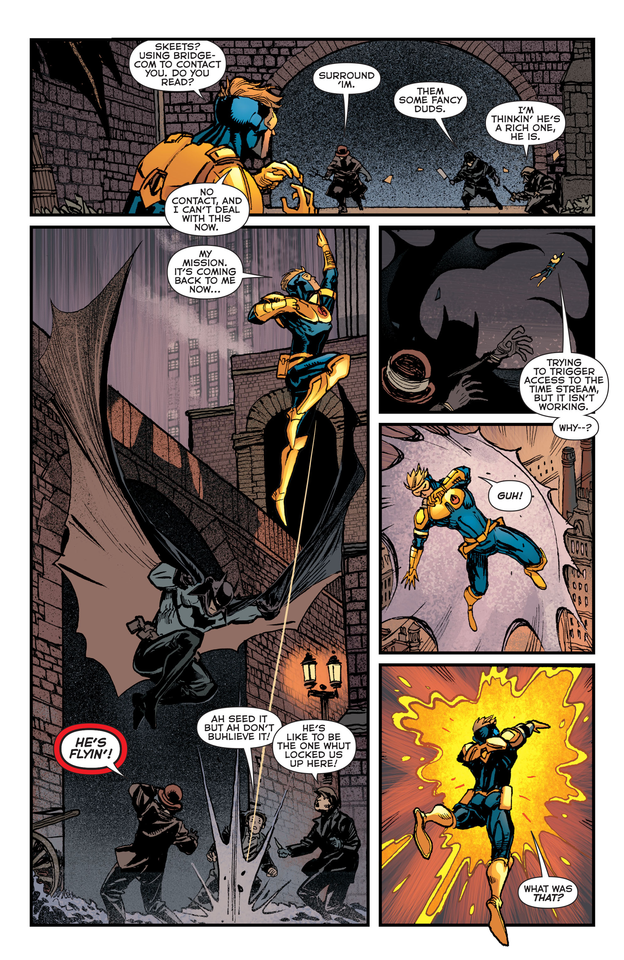 Read online Booster Gold: Futures End comic -  Issue # Full - 5