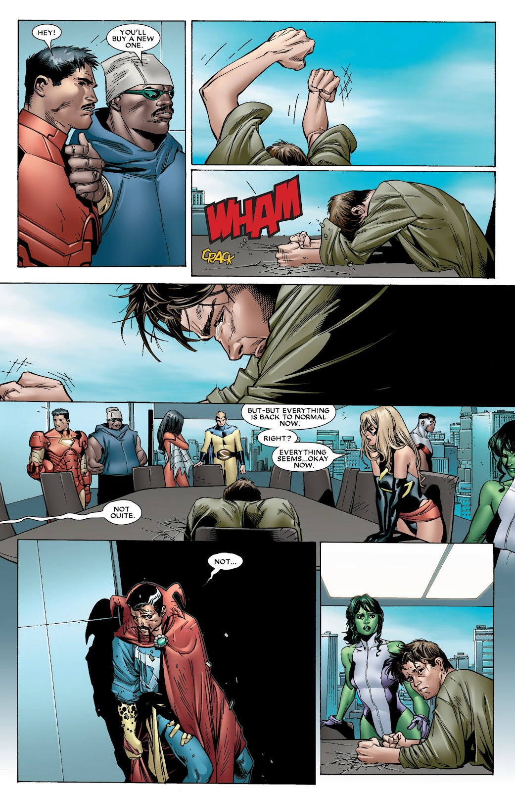 House of M (2005) Issue #8 #8 - English 7