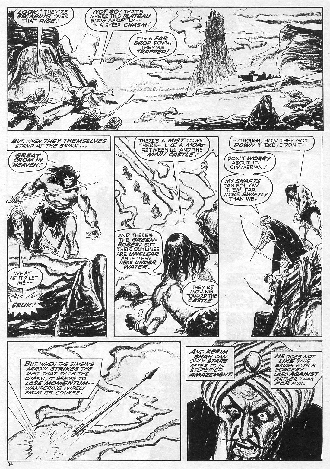 The Savage Sword Of Conan Issue #18 #19 - English 34