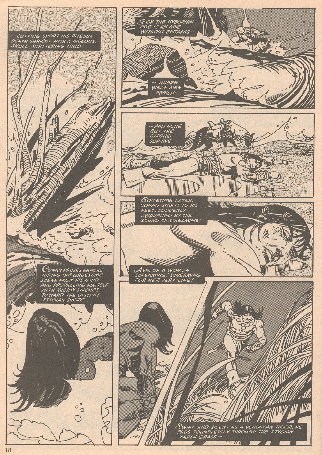 The Savage Sword Of Conan Issue #65 #66 - English 18