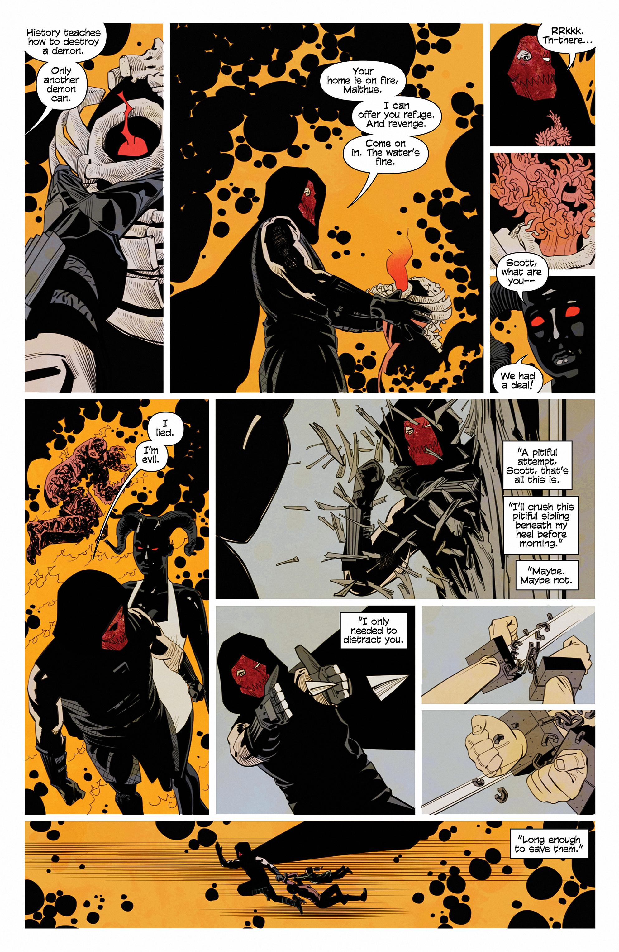 Read online Demonic comic -  Issue #6 - 17
