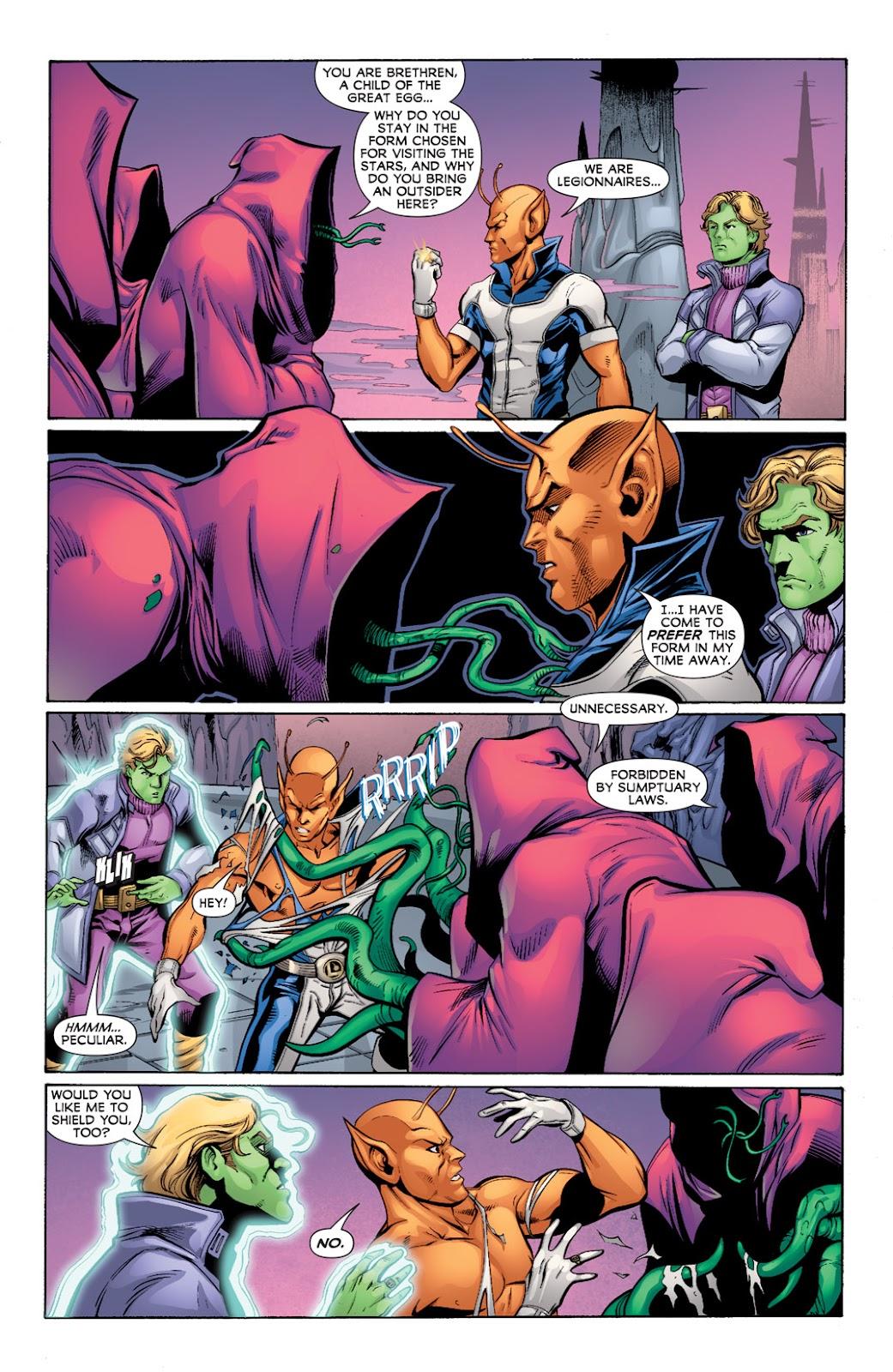 Legion of Super-Heroes (2010) Issue #9 #10 - English 3