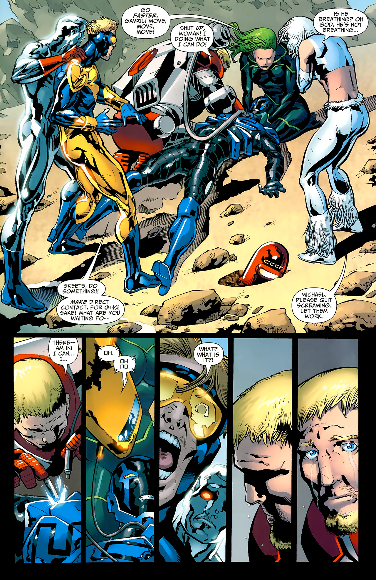 Read online Justice League: Generation Lost comic -  Issue #20 - 21