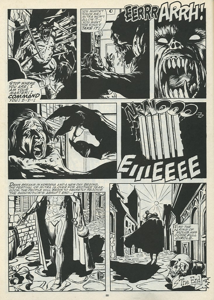 The Savage Sword Of Conan Issue #185 #186 - English 52