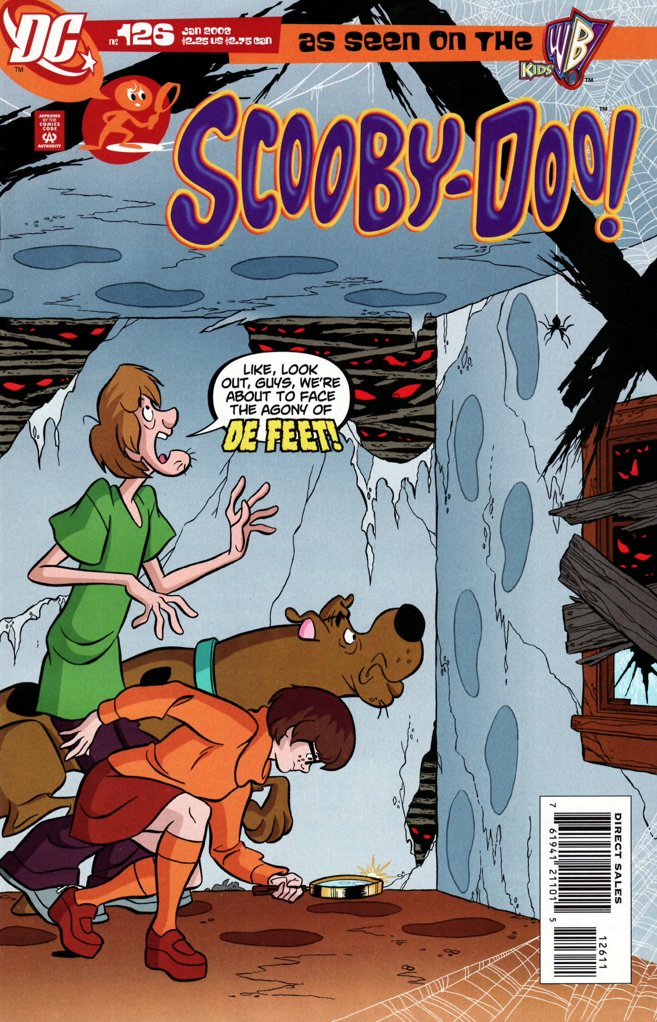 Read online Scooby-Doo (1997) comic -  Issue #126 - 1
