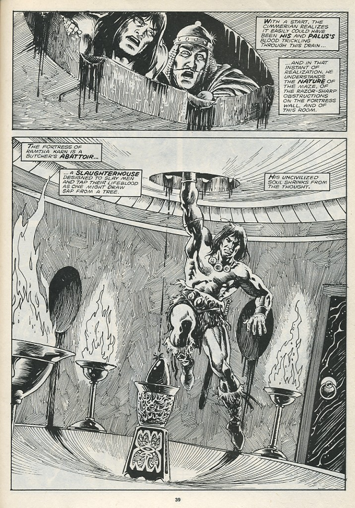 The Savage Sword Of Conan Issue #174 #175 - English 41