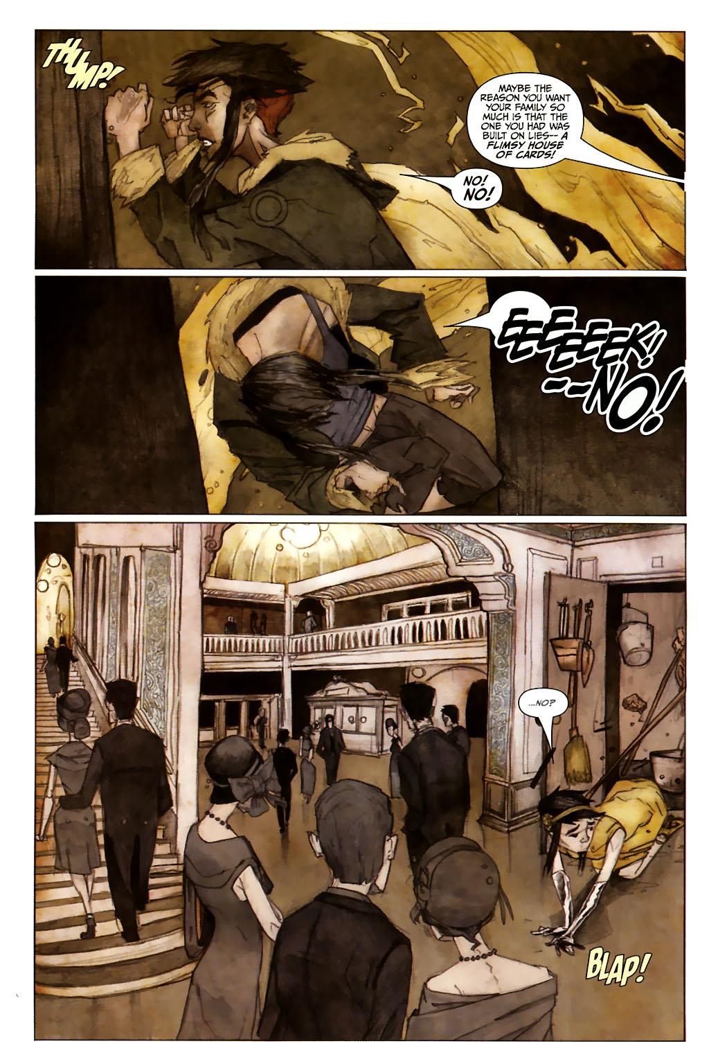 Girl 13 Page 6 #6 - English 12