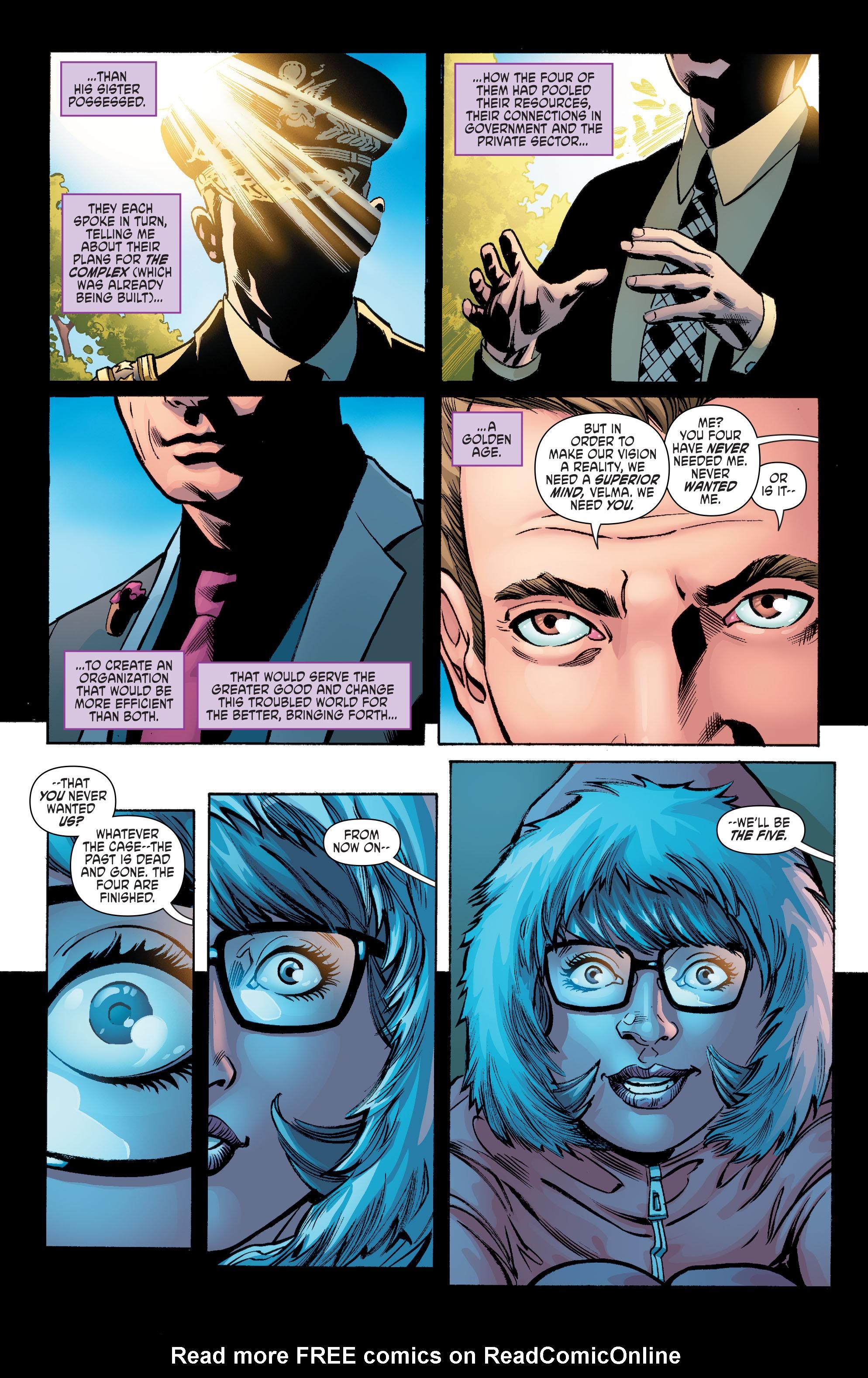 Read online Scooby Apocalypse comic -  Issue #6 - 15