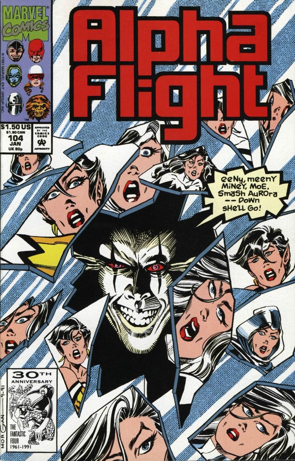 Alpha Flight (1983) 104 Page 1