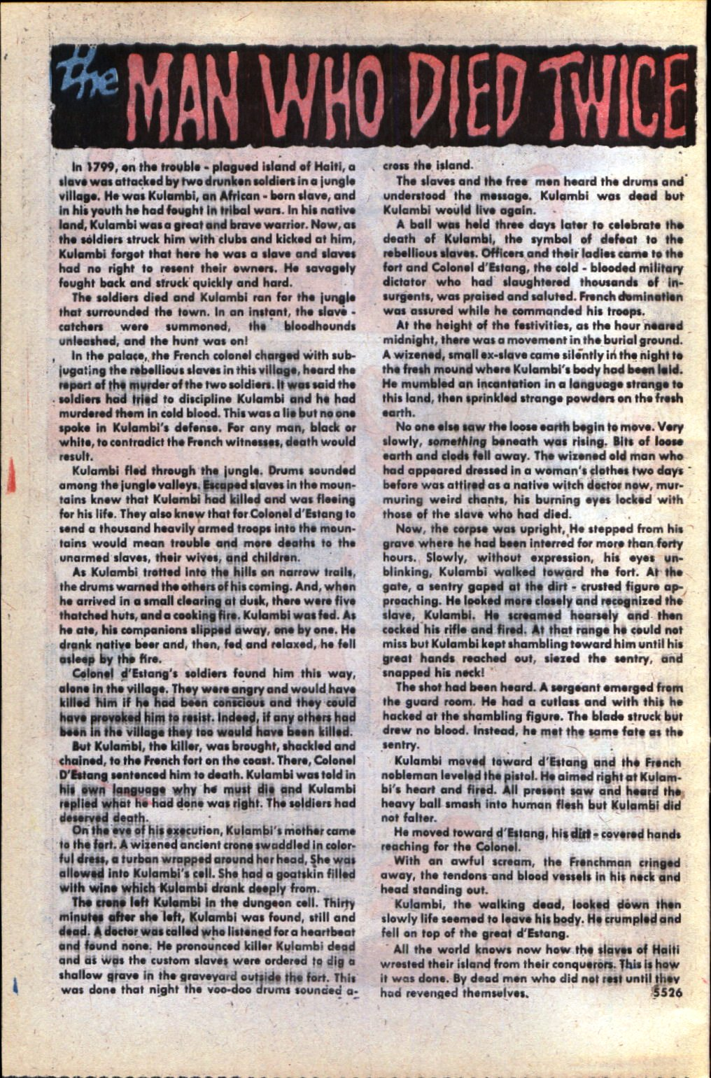 Read online Scary Tales comic -  Issue #11 - 32