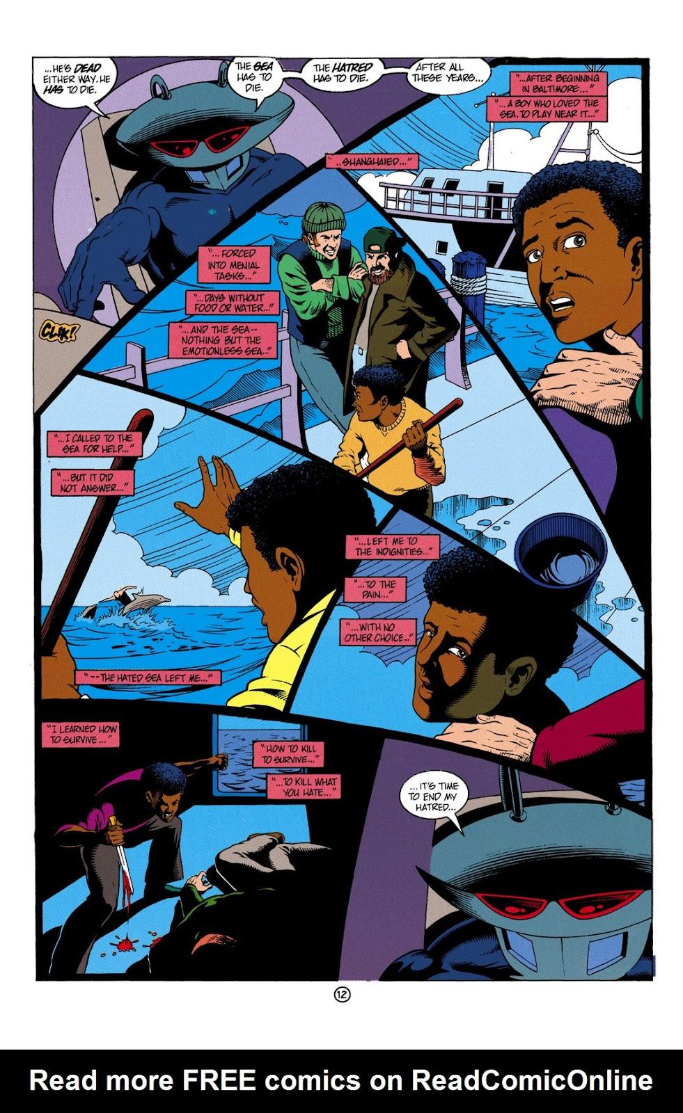 Aquaman (1991) Issue #6 #6 - English 13