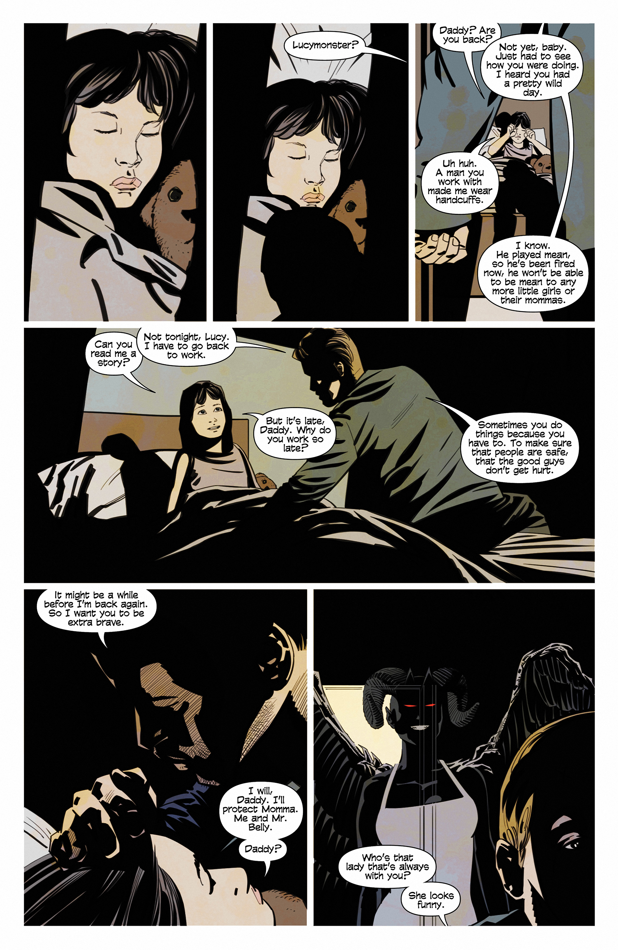 Read online Demonic comic -  Issue #6 - 19