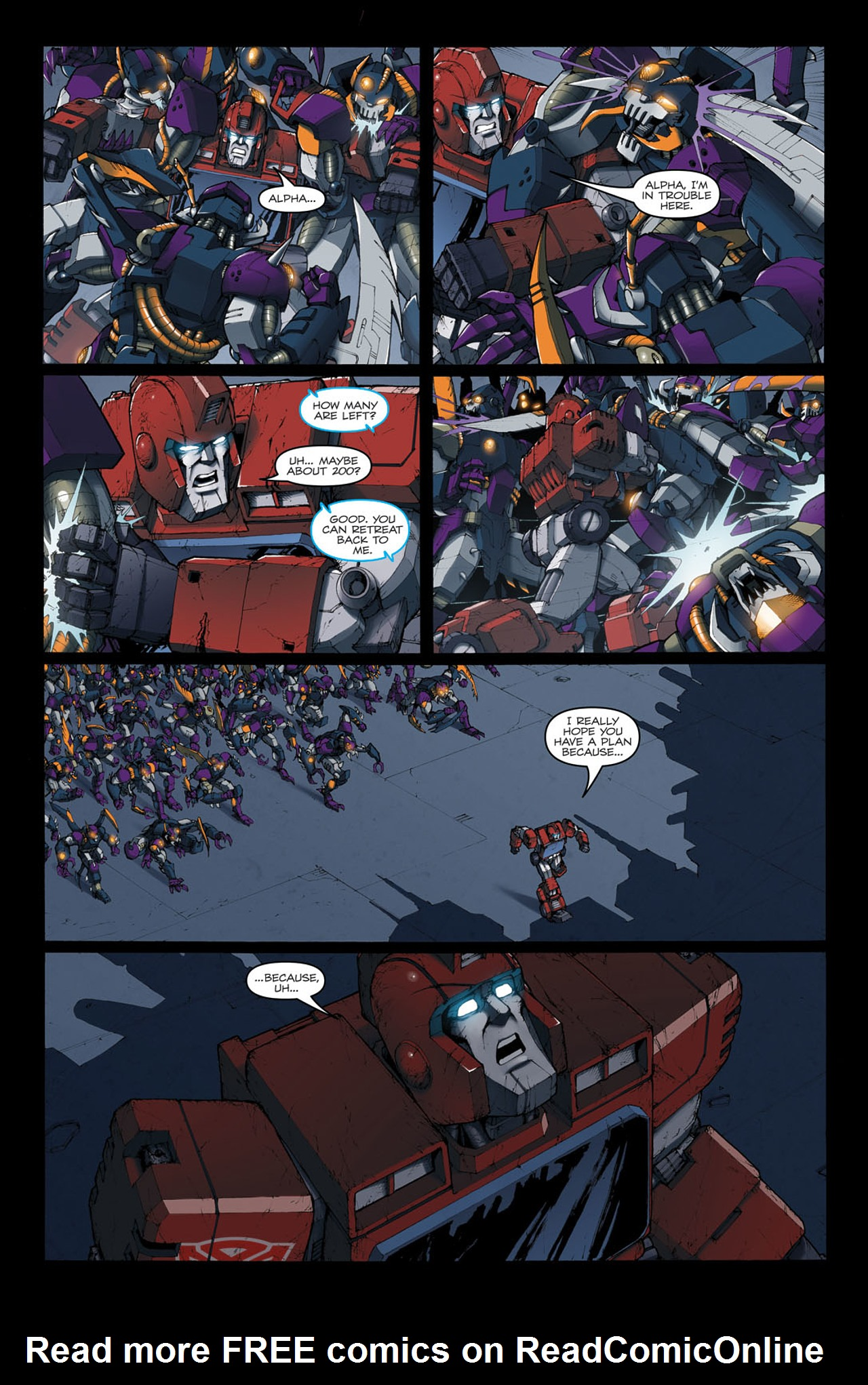 Read online The Transformers: Ironhide comic -  Issue #4 - 13