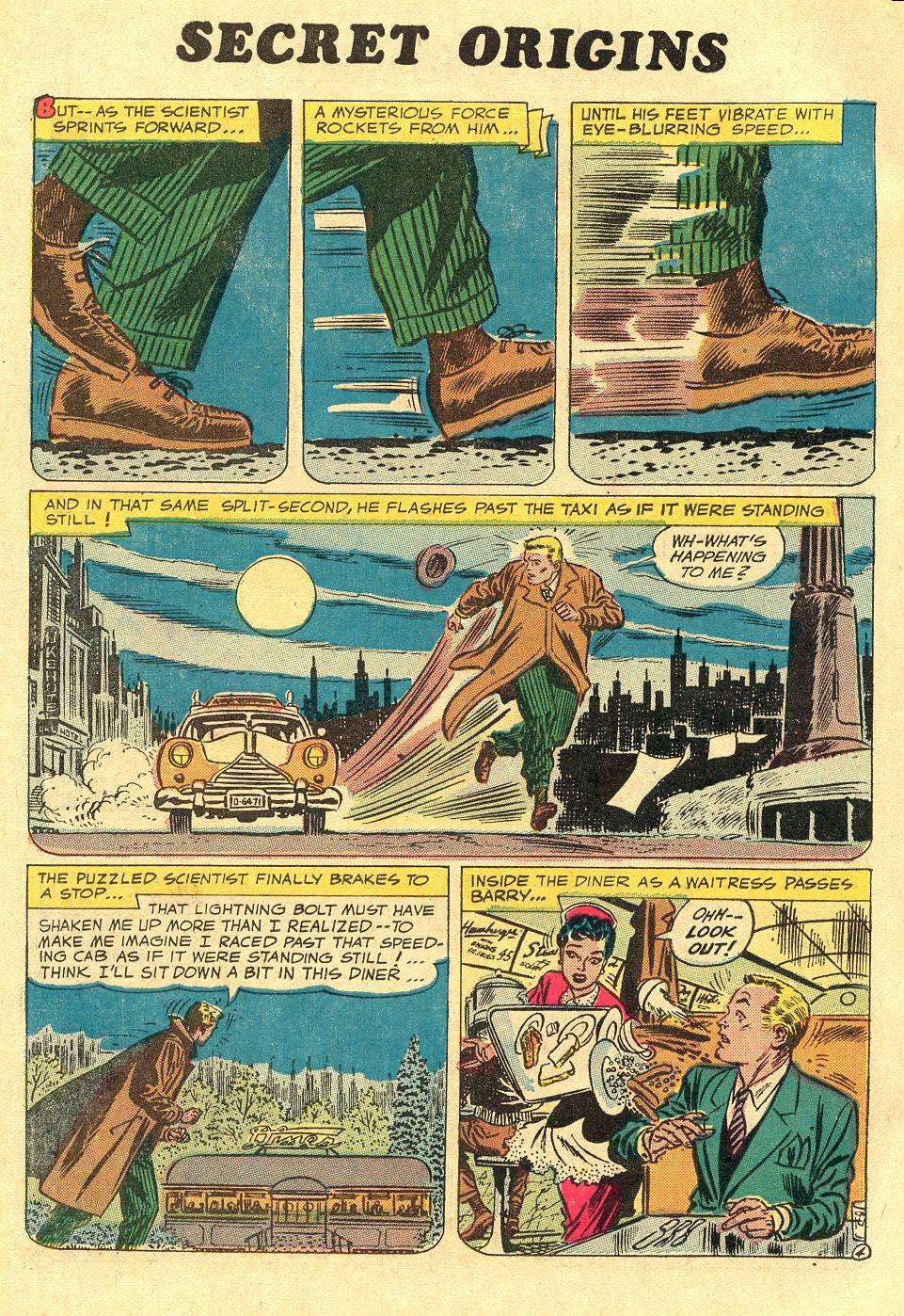 Read online Secret Origins (1973) comic -  Issue #1 - 22