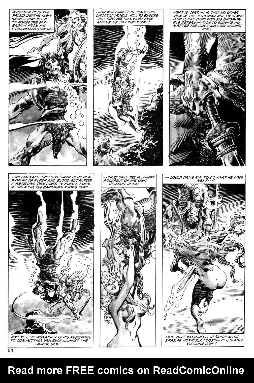 The Savage Sword Of Conan Issue #101 #102 - English 54
