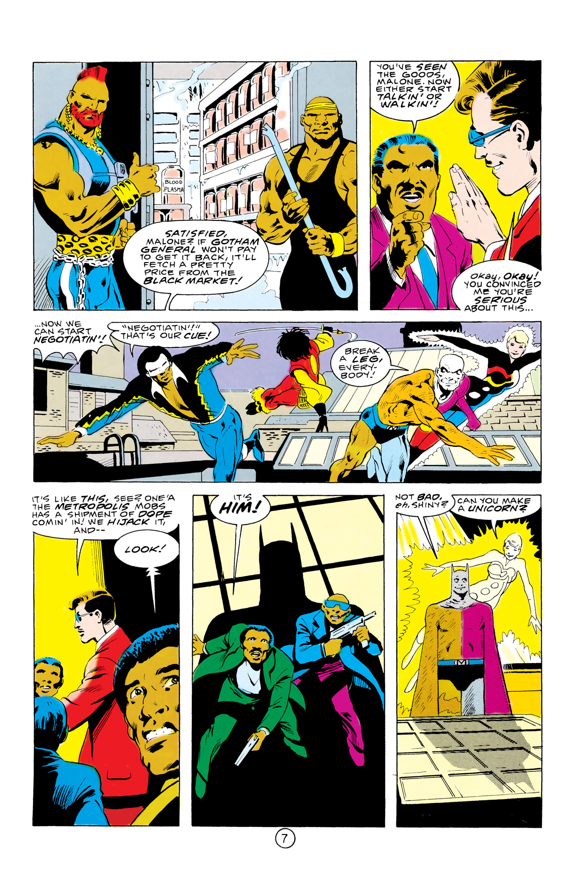 Batman and the Outsiders (1983) 32 Page 7