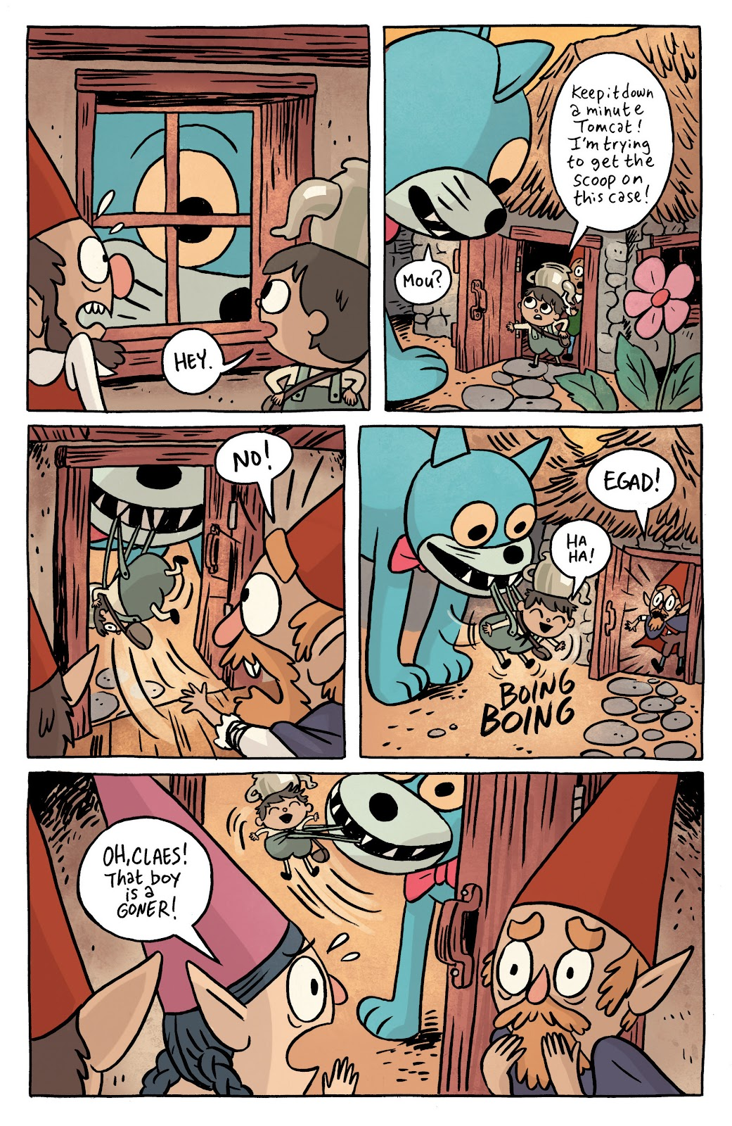 Over the Garden Wall (2016) Issue #1 #1 - English 9
