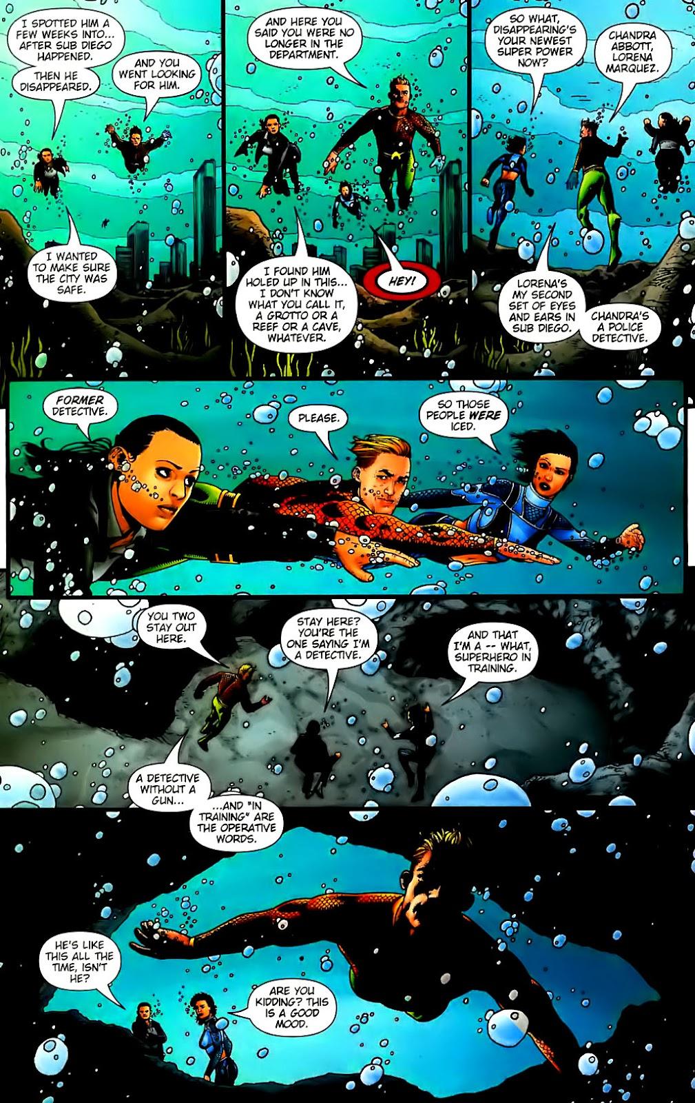 Aquaman (2003) Issue #30 #30 - English 15