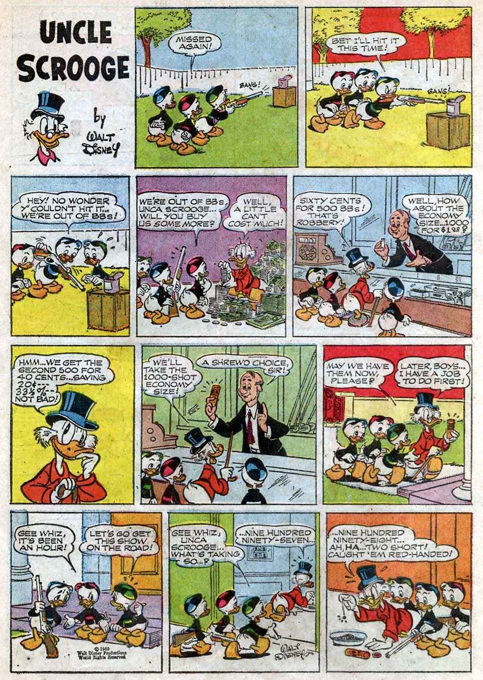 Uncle Scrooge (1953) Issue #62 #62 - English 34