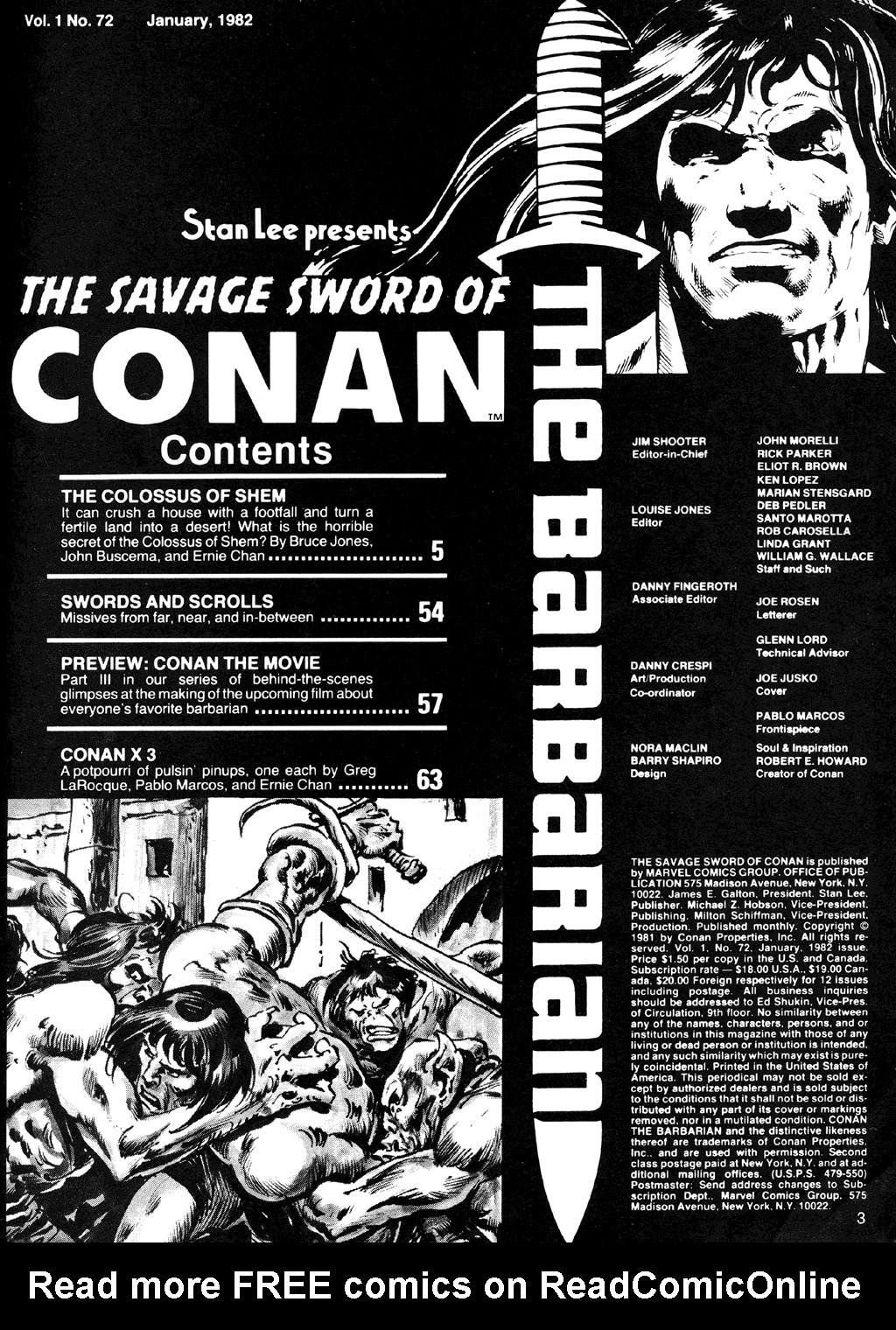The Savage Sword Of Conan Issue #72 #73 - English 3