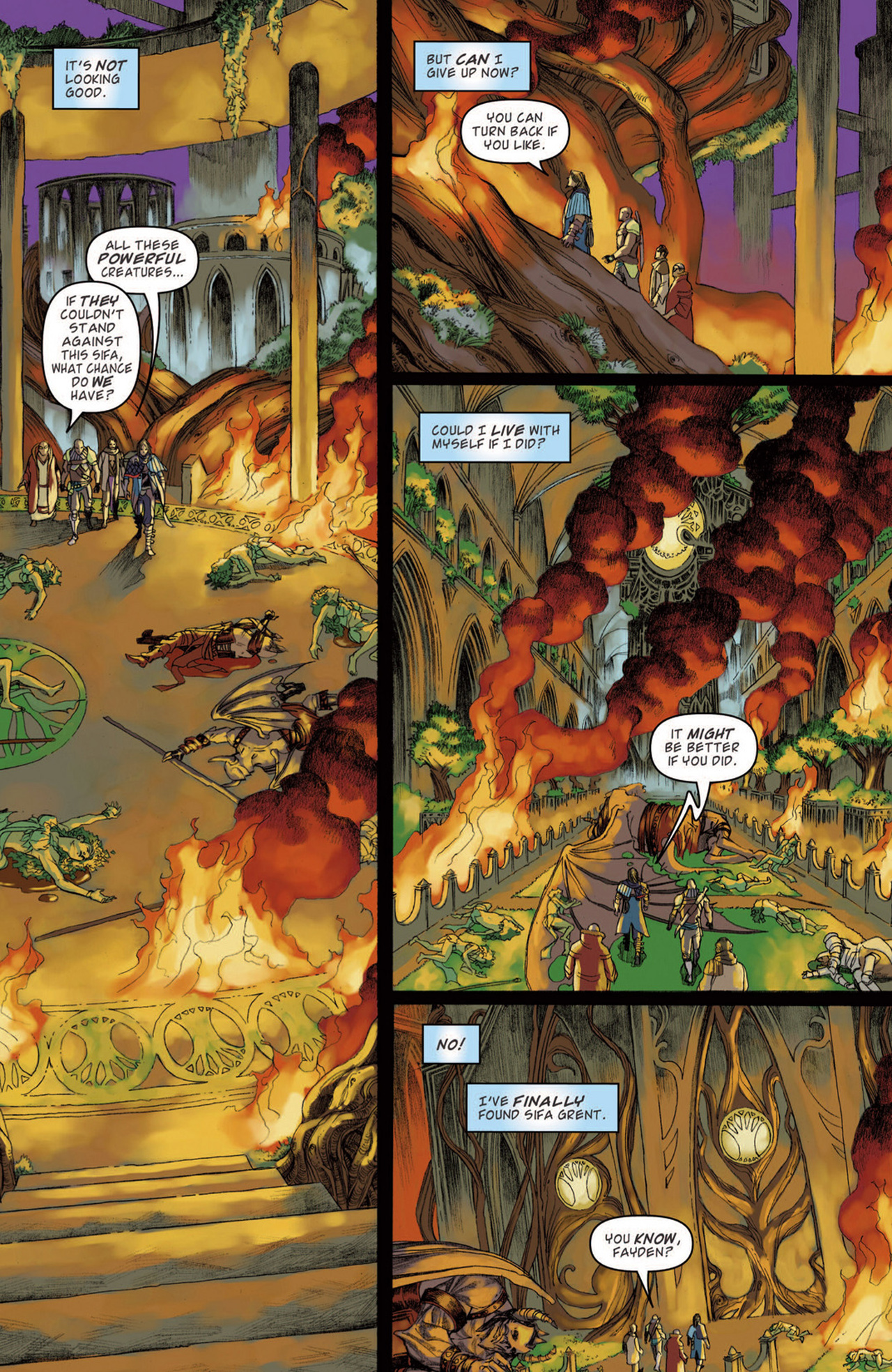 Read online Magic: The Gathering--Path of Vengeance comic -  Issue #3 - 23