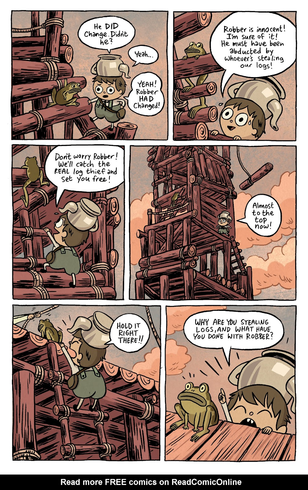 Over the Garden Wall (2016) Issue #4 #4 - English 8