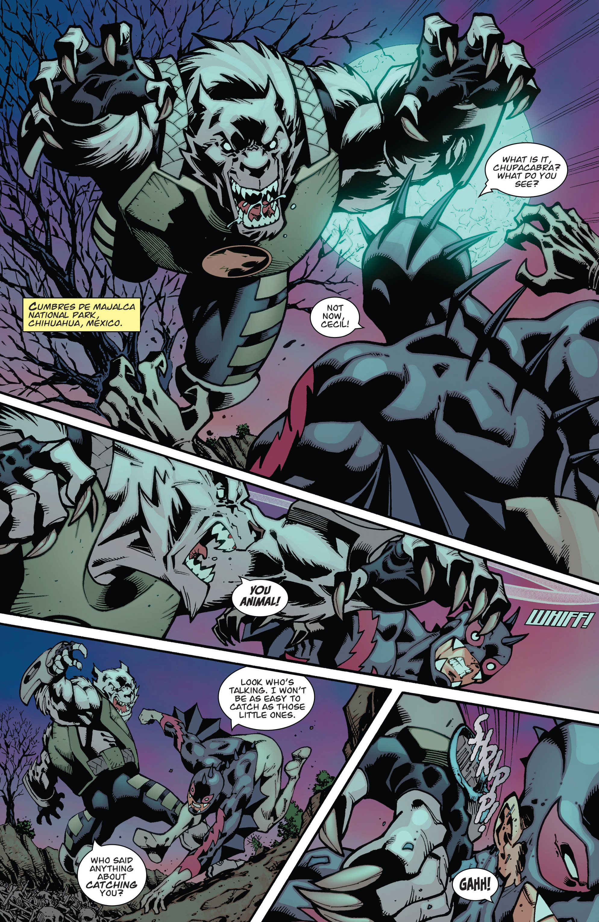 Read online Guarding the Globe (2012) comic -  Issue #3 - 9