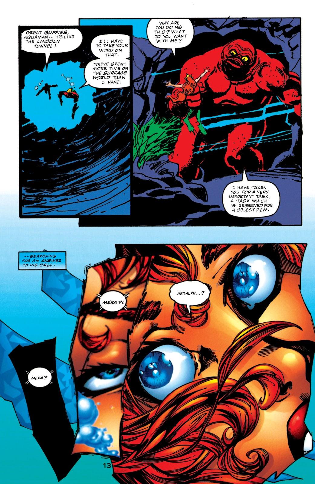 Aquaman (1994) Issue #52 #58 - English 13