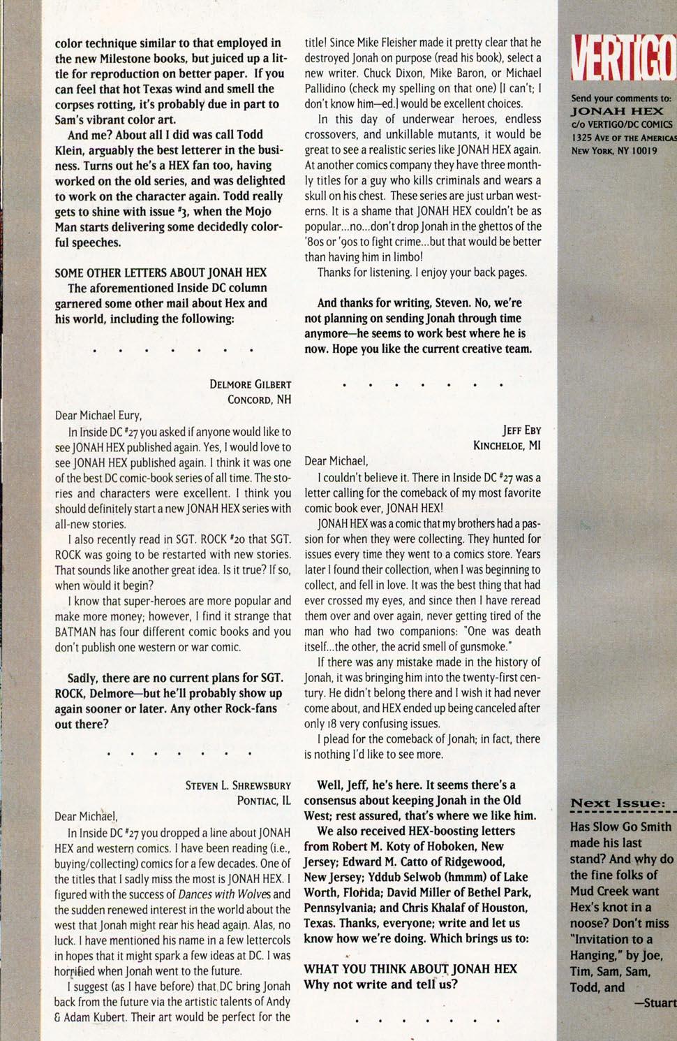 Jonah Hex: Two-Gun Mojo Issue #1 #1 - English 34