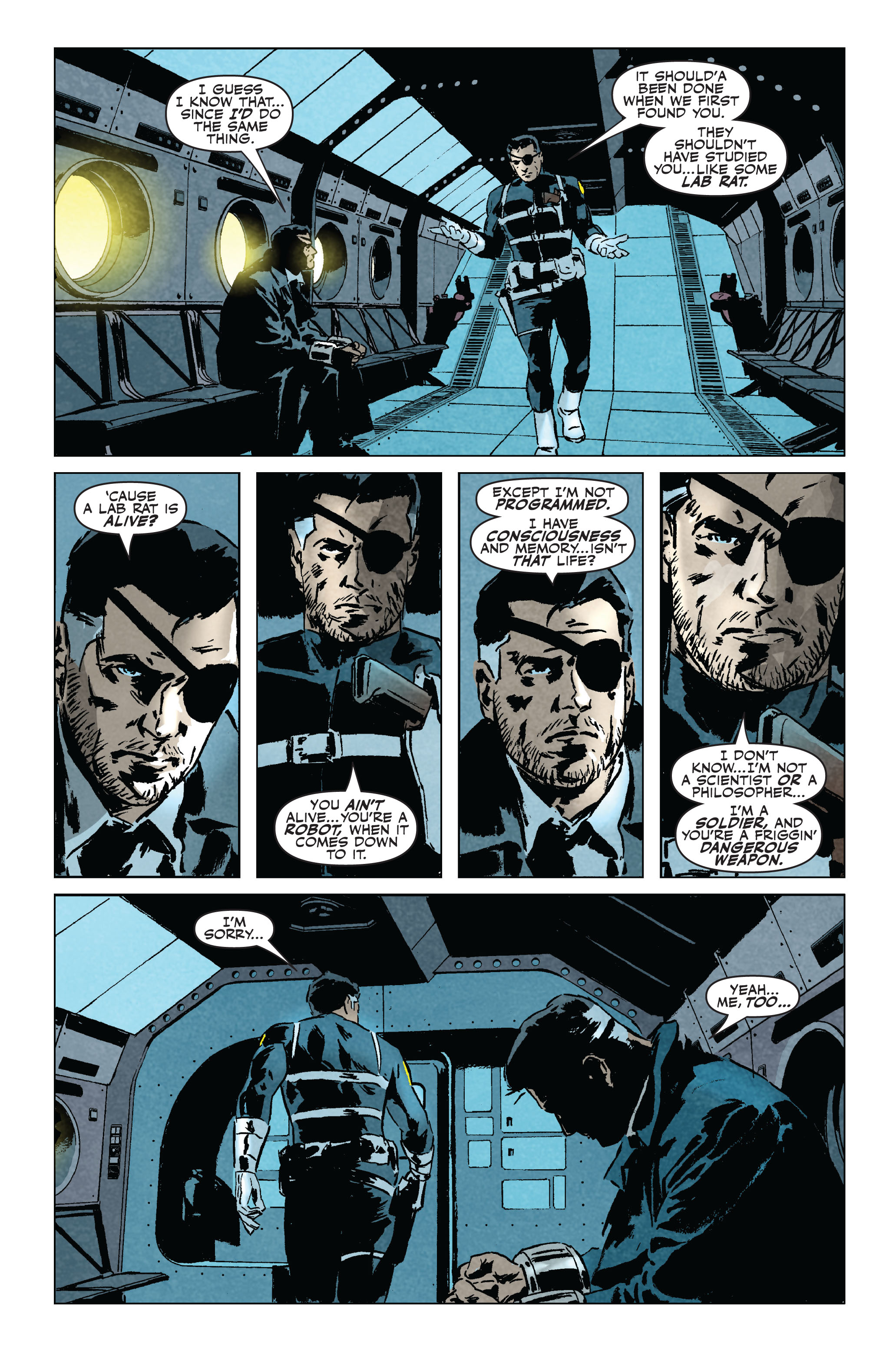 Read online Secret Avengers (2010) comic -  Issue #5 - 17