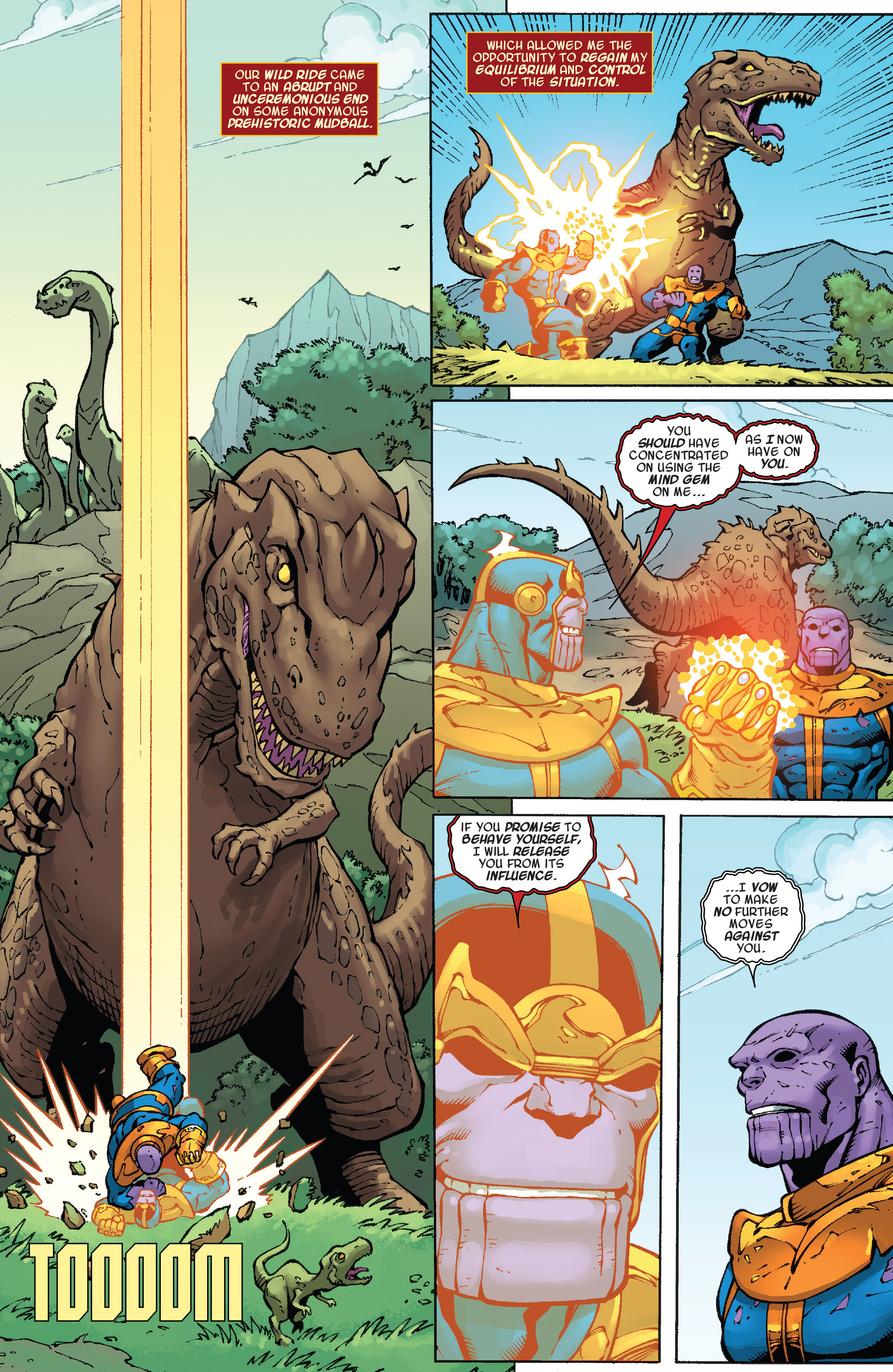 Read online Thanos Annual comic -  Issue # Annual - 18