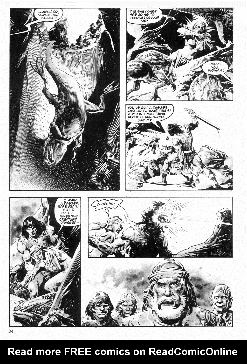 The Savage Sword Of Conan Issue #98 #99 - English 34