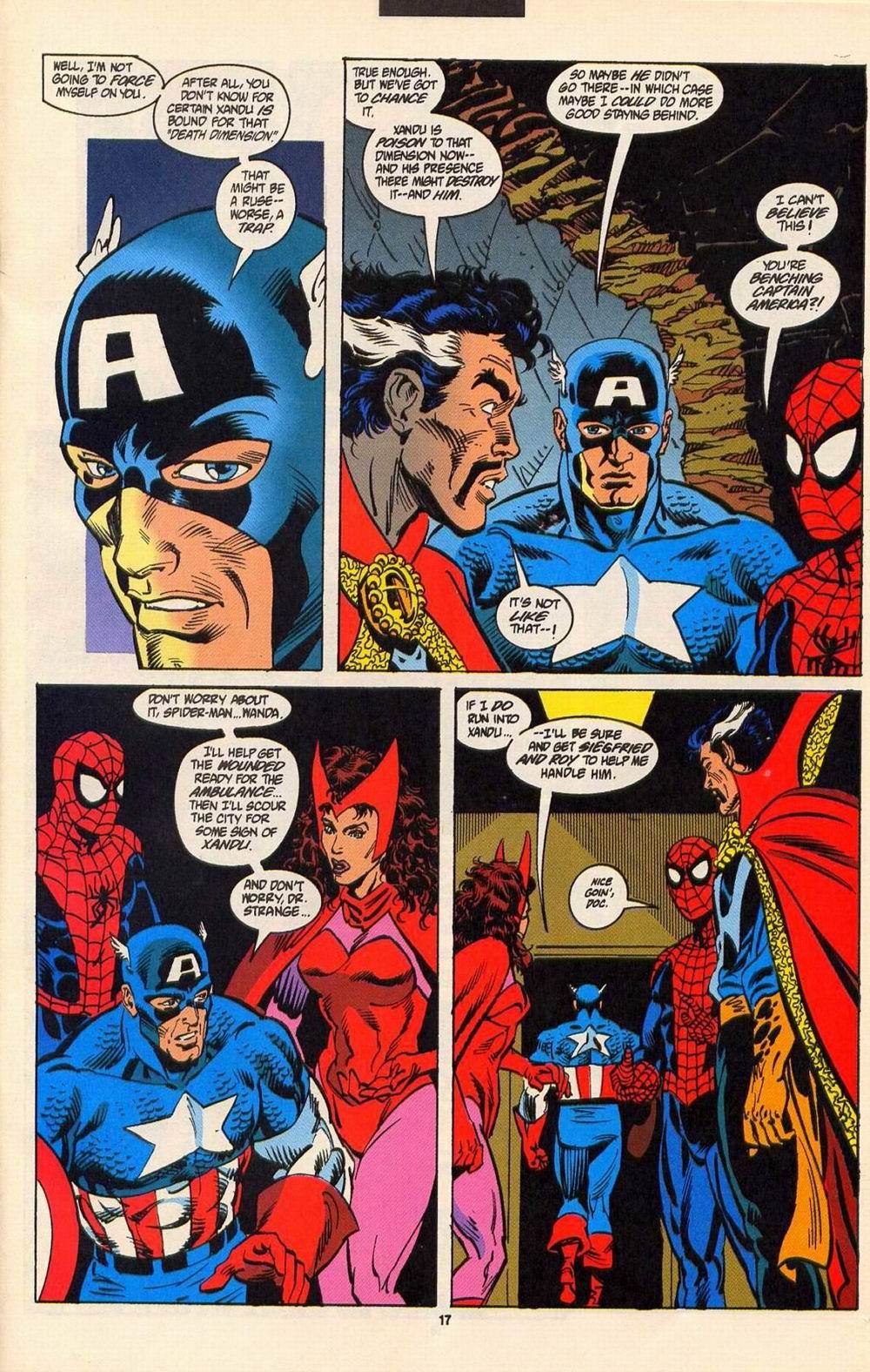 Read online Secret Defenders comic -  Issue #6 - 14
