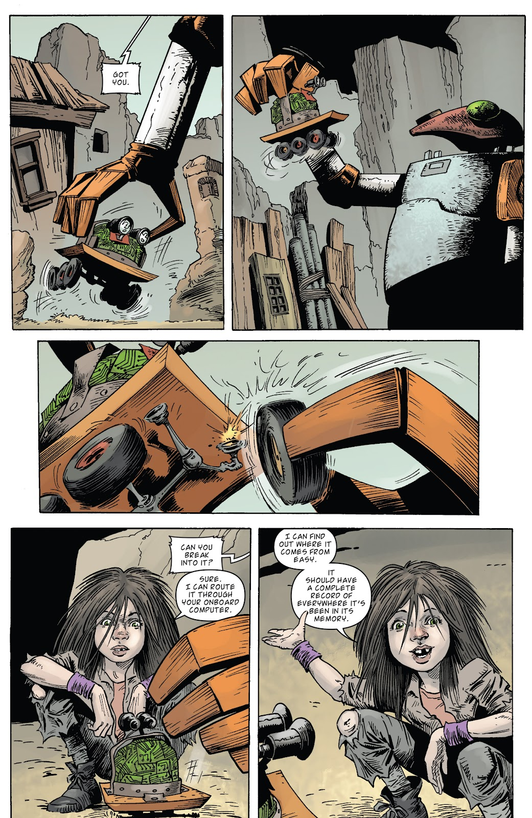 Zombies vs Robots (2015) Issue #6 Page 18