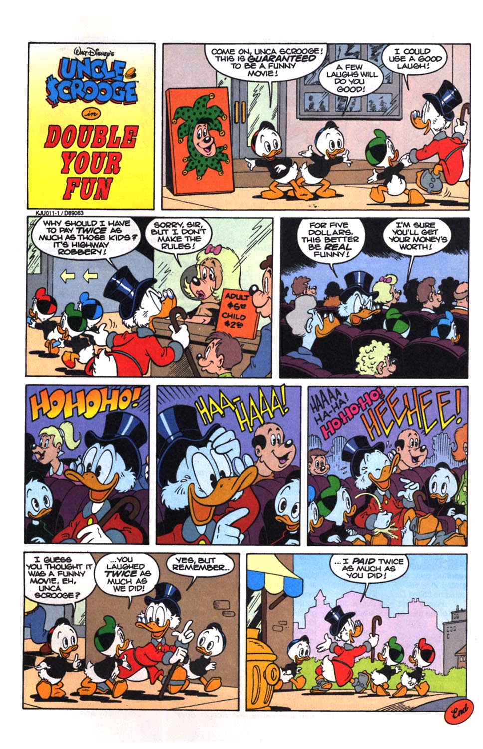 Uncle Scrooge (1953) Issue #258 #258 - English 28