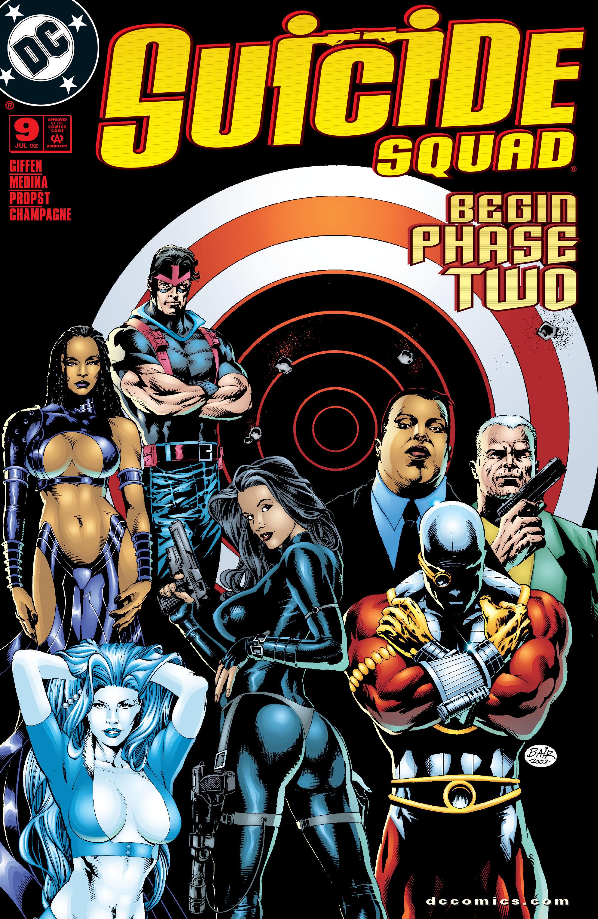 Suicide Squad (2001) 9 Page 1