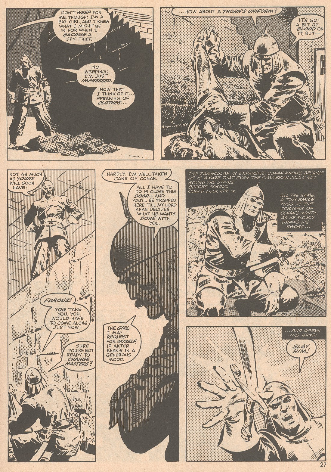 The Savage Sword Of Conan Issue #58 #59 - English 28