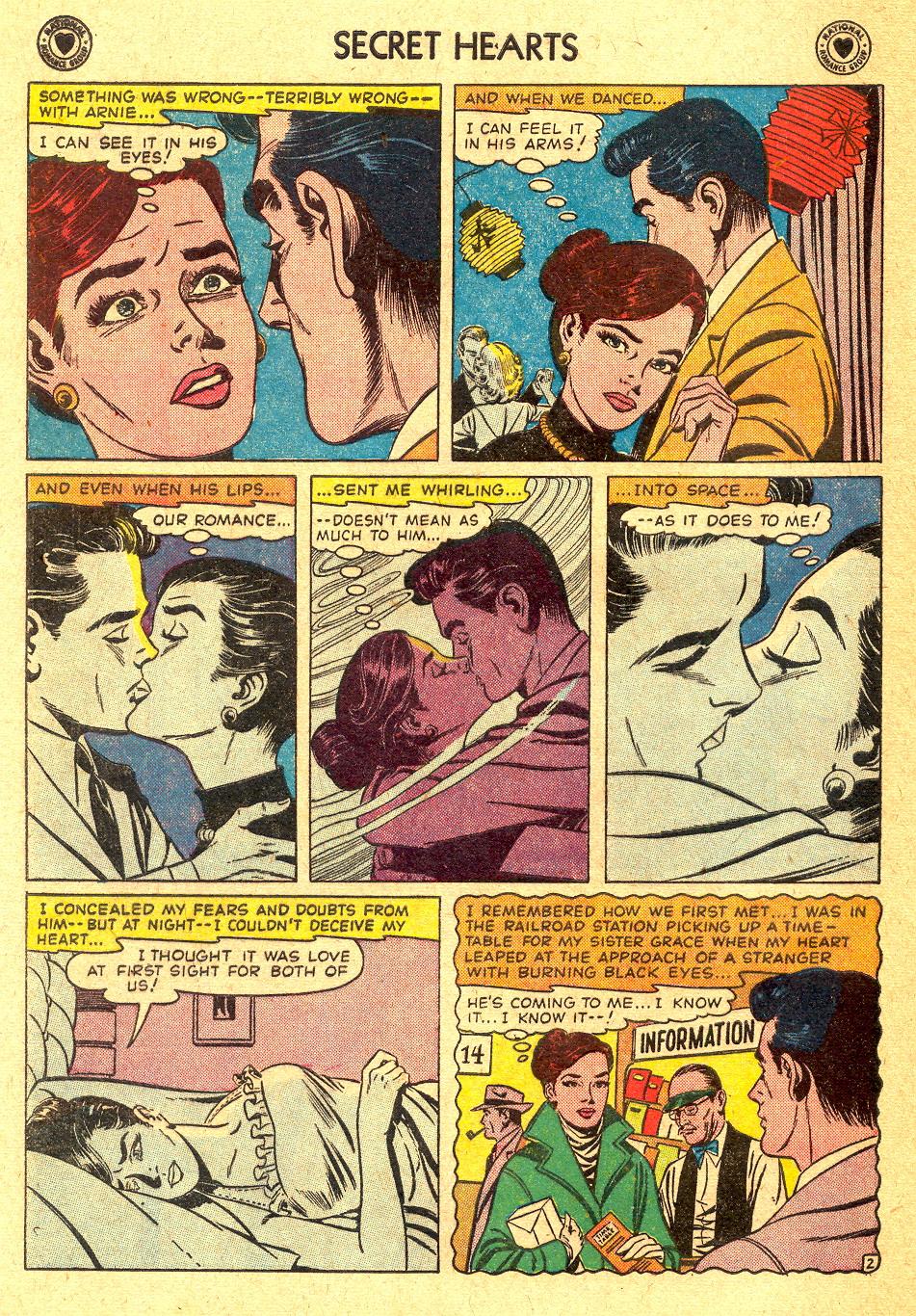 Read online Secret Hearts comic -  Issue #45 - 28
