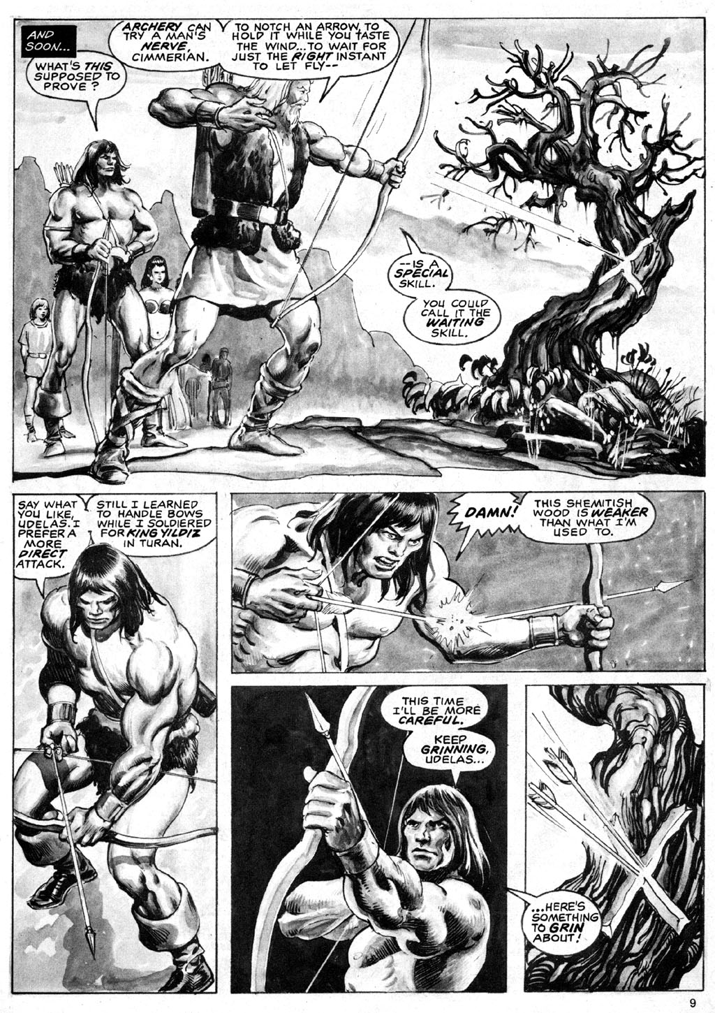 The Savage Sword Of Conan Issue #69 #70 - English 9