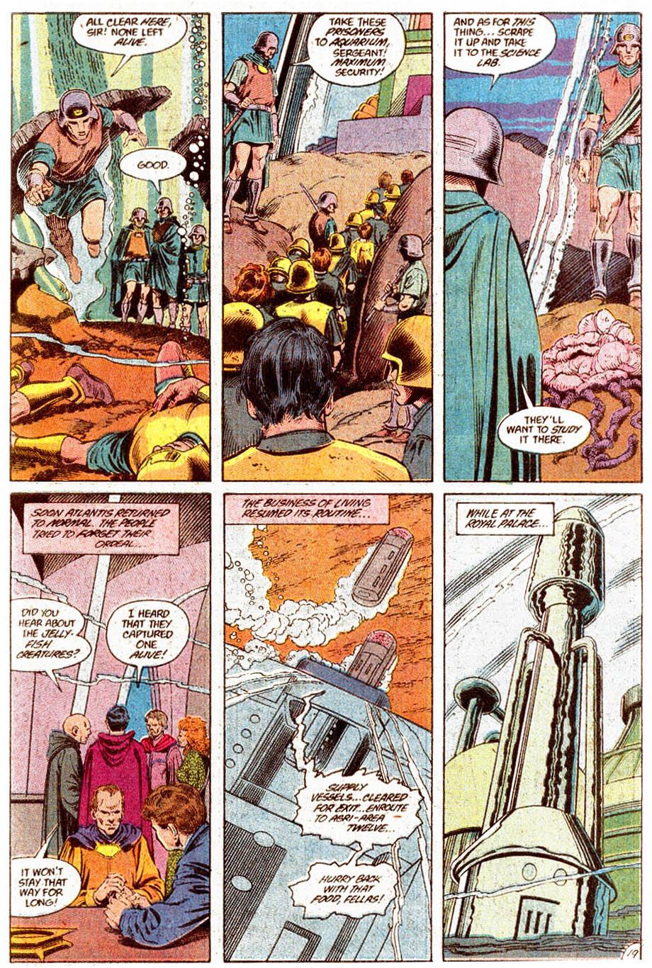 Aquaman (1989) Issue #5 #5 - English 20