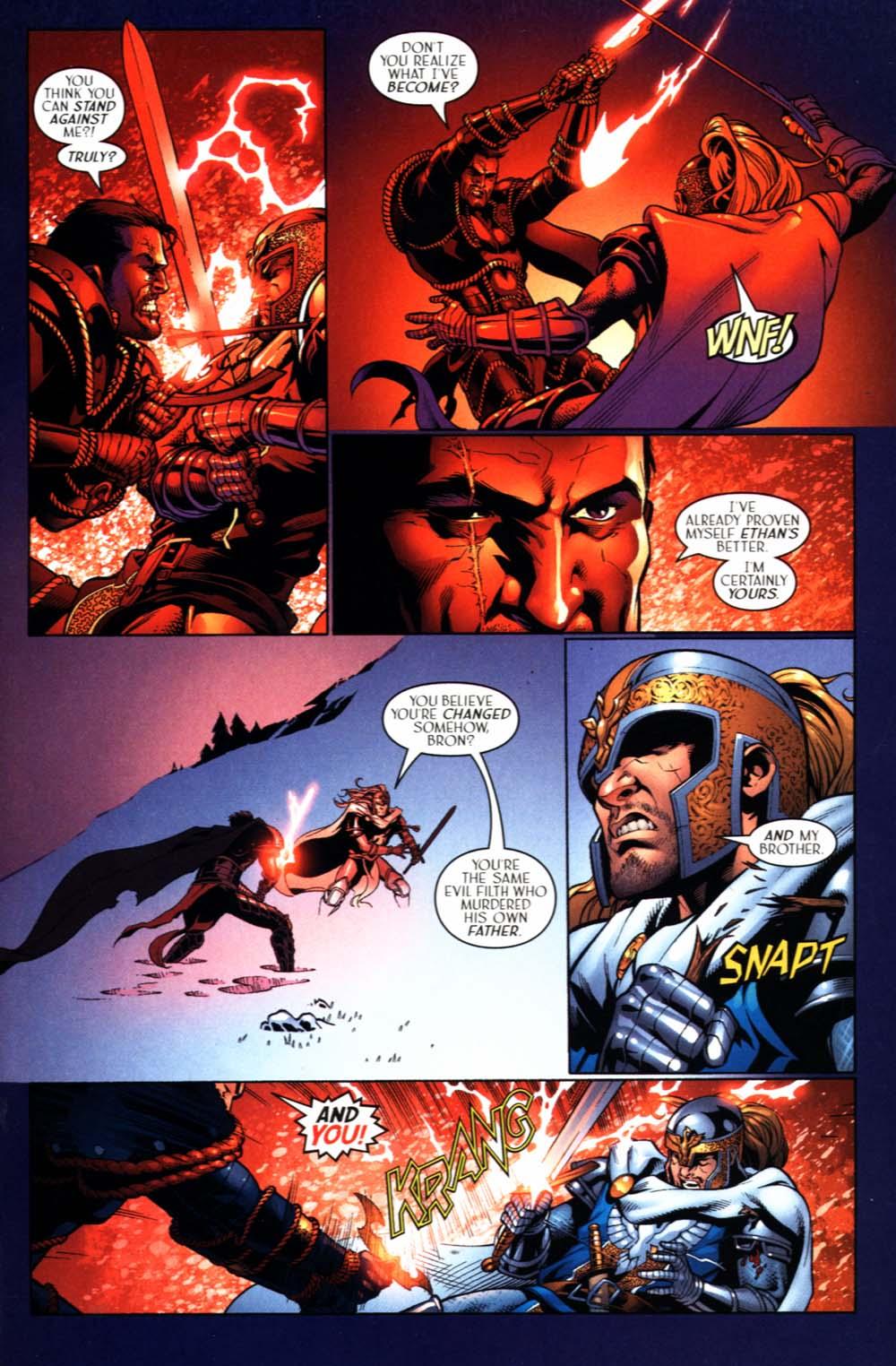 Read online Scion comic -  Issue #22 - 19